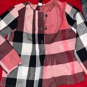 KIDS Burberry shirt